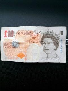 10 funtów brytyjskich 2000 r Darwin доставка товаров из Польши и Allegro на русском