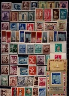 ПОЛЬША,ФИ-757-809 ** СОСТ.ГОД ВЫПУСКА 1955+ 4 БЛОКИ доставка товаров из Польши и Allegro на русском