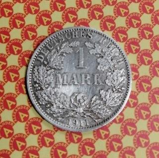 1 марка 1911 г.  доставка товаров из Польши и Allegro на русском