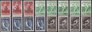 Fi. 437-440** Набор чистых gw.+описание J. Walocha доставка товаров из Польши и Allegro на русском