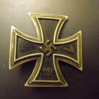 Krzyż Żelazny I klasa 1939 z wkładem mosiężnym доставка товаров из Польши и Allegro на русском