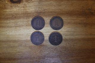 Набор 4x1 Империя пфеннинга 1905-1935  доставка товаров из Польши и Allegro на русском