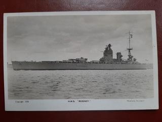HMS RODNEY brytyjski pancernik II WŚ доставка товаров из Польши и Allegro на русском