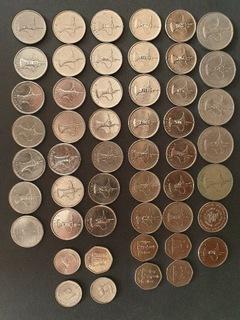 ZEA  - Zjednoczone emiraty monety1973-2019 доставка товаров из Польши и Allegro на русском