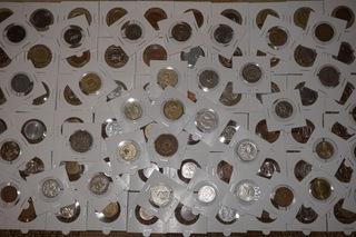 Набор монет 100 шт. сама экзотика- № 2 доставка товаров из Польши и Allegro на русском