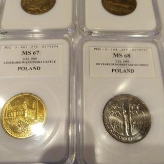 4 X 2 zł Nordic Gold MENNICZE доставка товаров из Польши и Allegro на русском