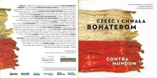 Contra Mundum Cześć i chwała bohaterom CD jak NOWA доставка товаров из Польши и Allegro на русском