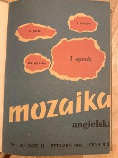 Mozaika angielska - rok 1958 доставка товаров из Польши и Allegro на русском