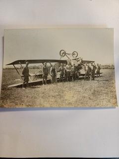 Первая война, разбитый самолет ВВС  доставка товаров из Польши и Allegro на русском