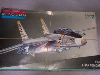 Модель F14 Tomcat 1:48 Монограмма 1981 РЕДКОСТЬ доставка товаров из Польши и Allegro на русском