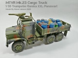 MK23 Truck Trumpeter + Panzerart Eureka XXL 1/35 доставка товаров из Польши и Allegro на русском
