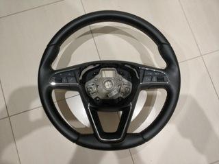 Kierownica SEAT LEON III 3 skóra b.ładna доставка товаров из Польши и Allegro на русском