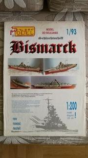 Model kartonowy Bismarck доставка товаров из Польши и Allegro на русском