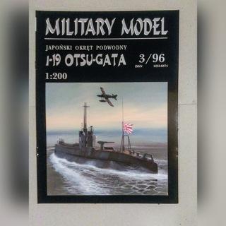 JAPOŃSKI OKRĘT PODW.1-19 OTSU-GATA HALIŃSKI. 3/96 доставка товаров из Польши и Allegro на русском