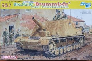 DRAGON 6460 Sd.Kfz.166 Stu.Pz.IV Brumbär (2 in 1) доставка товаров из Польши и Allegro на русском