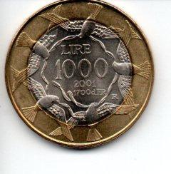 Сан-Марино - 1000 лир - 2001 доставка товаров из Польши и Allegro на русском