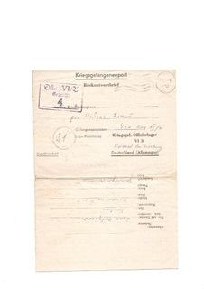 Feldpost - Солдатское письмо из офлага доставка товаров из Польши и Allegro на русском