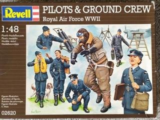 Figurki Revell 02620 PILOTS & GROUND CREW RAF 1:48 доставка товаров из Польши и Allegro на русском