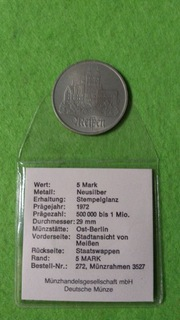 20 Mark 1971 DDR доставка товаров из Польши и Allegro на русском