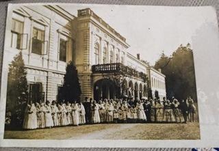 Widokówka, zdjęcie Wizyta królowej Habsburg Żywiec доставка товаров из Польши и Allegro на русском