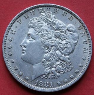 1 dolar 1881 O r. -  Dolar Morgana доставка товаров из Польши и Allegro на русском