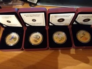 Canada 25 c Seria ptaki 2011, 2012 доставка товаров из Польши и Allegro на русском