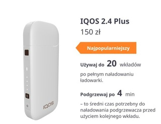 Oryginał Najnowszy Iqos 2.4+ Protect Philip Morris доставка товаров из Польши и Allegro на русском