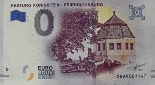 0 Euro Twierdza Königstein 0€  Festung Königstein  доставка товаров из Польши и Allegro на русском