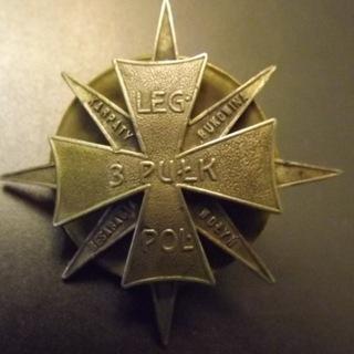 Odznaka 3 Pułku Piechoty Legionów II RP nr 126 доставка товаров из Польши и Allegro на русском