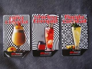 телефонные карты итальянские напитки, набор 3шт. bcm доставка товаров из Польши и Allegro на русском