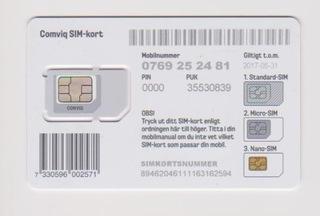 Карточка gsm sim-карты из Швеции доставка товаров из Польши и Allegro на русском