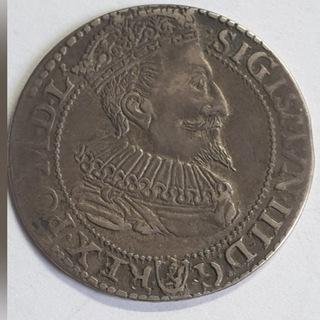 Szóstak 1596 г. Мальборк Сигизмунд III Ваза доставка товаров из Польши и Allegro на русском