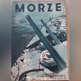 Журнал Море № 8 с 1937 года. доставка товаров из Польши и Allegro на русском
