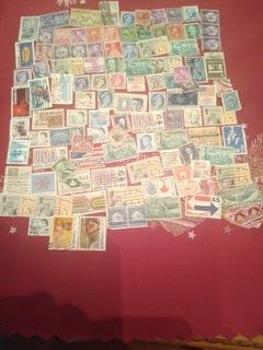 Набор марок США и КАНАДЫ 108шт.  доставка товаров из Польши и Allegro на русском