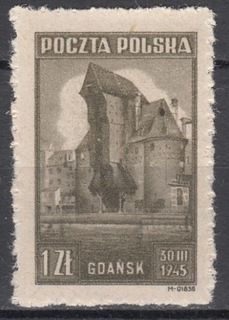 377** y1 zielonkawooliwkowy, N.3.W.II., ZL 10 3/4 доставка товаров из Польши и Allegro на русском