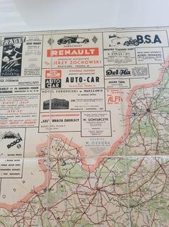 Довоенная Карта Автомобильная Давид Wacznadze доставка товаров из Польши и Allegro на русском