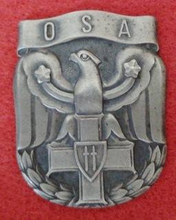 Знак OSA доставка товаров из Польши и Allegro на русском
