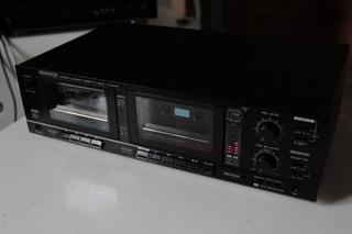Magnetofon stereo deck KENWOOD model KX 64W доставка товаров из Польши и Allegro на русском