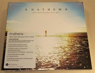 Anathema - We're Here Because We're Here (CD/DVD) доставка товаров из Польши и Allegro на русском