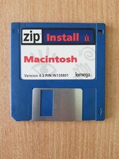 Установочная дискета Macintosh  доставка товаров из Польши и Allegro на русском