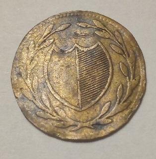 1 пфенниг 1819 г. Франкфурт, очень редко  доставка товаров из Польши и Allegro на русском