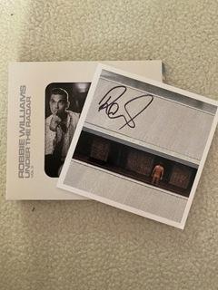 Robbie Williams Autograf +płyta  доставка товаров из Польши и Allegro на русском