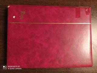 Klaser 48 strony A4 wypełniony znaczkami доставка товаров из Польши и Allegro на русском