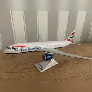 Model samolotu Boeing 787-800, British Airways доставка товаров из Польши и Allegro на русском