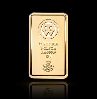 10 грамм Au 999,9 доставка товаров из Польши и Allegro на русском