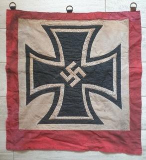 Baner, III Rzesza, Wehrmacht, Hitler, Swastyka  доставка товаров из Польши и Allegro на русском