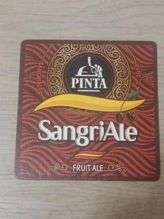 Пинта SangriAle Fruit Ale, пивные вафли  доставка товаров из Польши и Allegro на русском