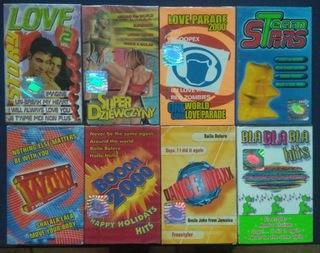 8 szt NOWYCH ZAFLIOWANYCH kaset magnetofonowych доставка товаров из Польши и Allegro на русском