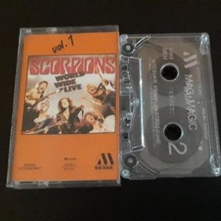 SCORPIONS - WORLD WIDE LIVE- kaseta magnetofonowa доставка товаров из Польши и Allegro на русском