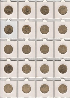 Zestaw 35 monet 2 zł  доставка товаров из Польши и Allegro на русском